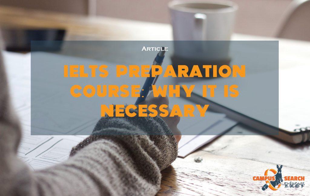 IELTS Preparation Course